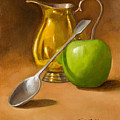 Spoon And Creamer  by Joni Dipirro