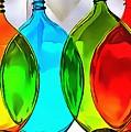 Spoon Bottles-rainbow Theme by Catherine Lott