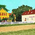 Spooner's Paint Shop by Cliff Wilson