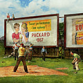 Sport - Baseball - America's Past Time 1943 by Mike Savad