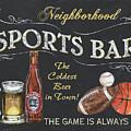 Sports Bar by Debbie DeWitt
