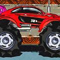 Sports Car Monster Truck by Jeelan Clark