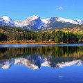 Sprague Lake Morning Reflections by Greg Norrell
