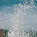 Spray In The Bay by Karl A Hjatland