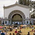 Spreckels Organ Pavilion Concert - San Diego by Kenneth Lempert