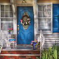 Spring - Door -  A Bit Of Blue  by Mike Savad