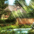Spring - Garden - The Pool Of Hopes by Mike Savad