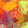 Spring Abundance - Spring Colors Abstract Art by Lourry Legarde
