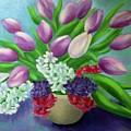 Spring As A Gift by Margareta Apahidean