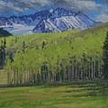 Spring Aspen by Lanny Grant