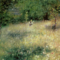 Spring At Chatou by Pierre Auguste Renoir