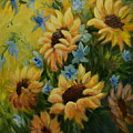 Sunflowers Galore by Joanne Smoley