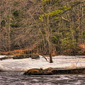 Spring Breakup At Eau Claire Dells Park by Dale Kauzlaric