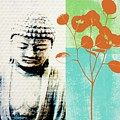 Spring Buddha by Linda Woods
