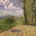 Spring by Camille Pissarro