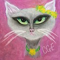 Spring Cat by Crystal Elswick