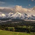 Spring Comes To The High Tatra Mountains In Poland by Miroslav Liska