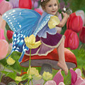 Spring Fairy by Lucie Bilodeau