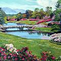 Spring Flower Park by David Lloyd Glover