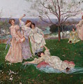 Spring Flowers by Albert-Emile Artigue