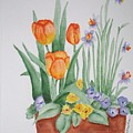 Spring Flowers by Phyllisa Christian