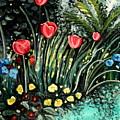 Spring Garden by Elizabeth Robinette Tyndall