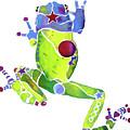 Spring Green Frog by Jo Lynch