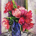 Spring In A Blue Bottle by Judi Cain