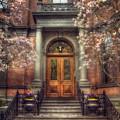Spring In Boston - Boston Doorways by Joann Vitali