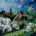 Spring In Fays Famenne by Pol Ledent