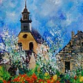 Spring In Foy Notre Dame Dinant by Pol Ledent