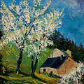 Spring In Hierges  by Pol Ledent