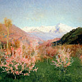 Spring In Italy by Isaak Ilyich Levitan