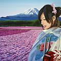 Spring In Japan by Paul Meijering