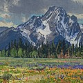 Spring In Wyoming by Lanny Grant