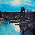 Spring Lake Nocturn by Robert W Cook