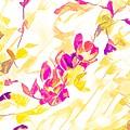 Spring Light Abstract by Aliceann Carlton