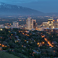 Spring Night In Salt Lake City by James Udall