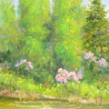Spring On Gore Creek by Bunny Oliver