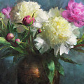 Spring Peonies by Anna Rose Bain