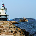 Spring Point Ladge Lighthouse - Maine by Zbigniew Krol