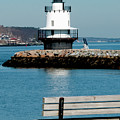 Spring Point Ledge Lighthouse by Greg Fortier