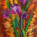 Spring Purple Bouquet by Henny Dagenais