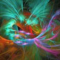 Spring Riot - Abstract Art by Sipo Liimatainen