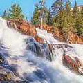 Spring Runoff At Glen Alpine Falls by Marc Crumpler