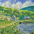 Spring Scene by Richard T Pranke
