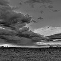 Spring Storm Front In Black And White by Dale Kauzlaric
