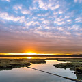 Spring Sunrise On Arcata Bay by Greg Nyquist