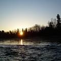 Spring Sunrise Over Mississippi River by Kent Lorentzen