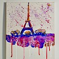 Spring Time. Paris. Eiffel Tower.  by Valeriya Bugatti